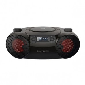 Radio CD Bluetooth MP3 Energy Sistem Boombox 6 12W Nero