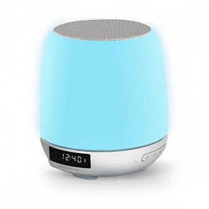 Radio Sveglia con Caricabatterie Wireless Energy Sistem Clock Speaker 3 Bluetooth RGB 8W