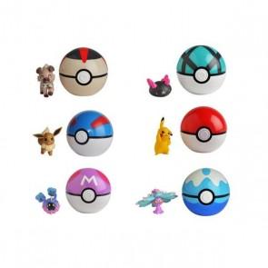 Personaggi d'Azione Pokemon  Pokeball Clip'N Go Bizak