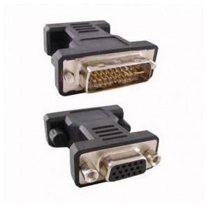 Convertitore da DVI 24+5 a VGA HDB 15 NANOCABLE 10.15.0704 Maschio Femmina