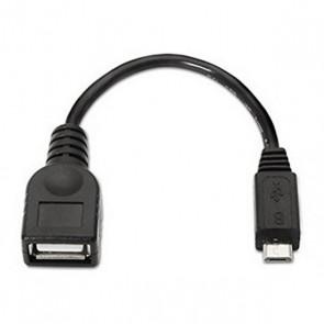 Cavo USB 2.0 A con Micro USB B NANOCABLE 10.01.3500 15 cm Nero