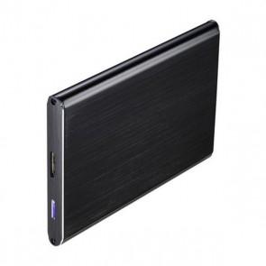 """Scatola Esterna TooQ TQE-2529B HD 2.5"""" SATA III-USB 3.0 FAT32 / NTFS / eXT2 / HFS Alluminio Nero"""
