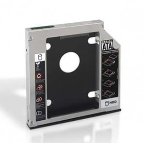 """Adattatore in Metallo per 2 Hard Disk (3.5""""/8,89 cm) NANOCABLE APTAPC0555 10.99.0002 Nero In metallo"""
