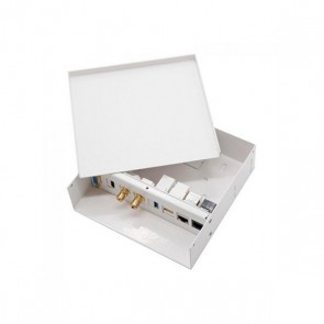 Scatola di Connessione per Lavagne Interattive NANOCABLE 10.35.0003 Bianco