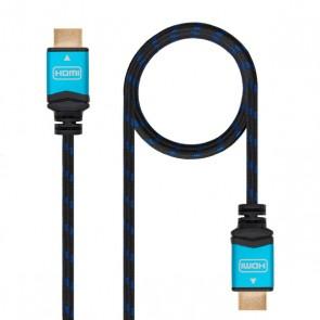 Cavo HDMI TooQ 10.15.37 V2.0 Nero Azzurro