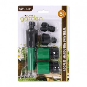 "Accoppiamenti Universal Little Garden 1/2"" - 5/8"""