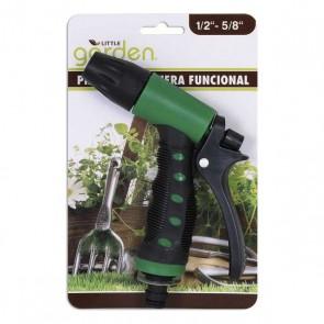 Pistola per Annaffiare Little Garden Verde Nero (22 X 14 x 3 cm)