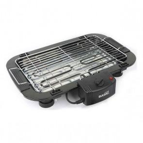 Barbecue Elettrico Basic Home 2000W (49 x 36 x 10 cm) Nero