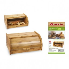Portapane Quttin Bambù (40 X 25,5 x 18 cm)