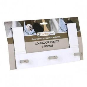 Appendiabiti per Porte Confortime (3 Grucce) (26 X 13,4 x 8,5 cm)