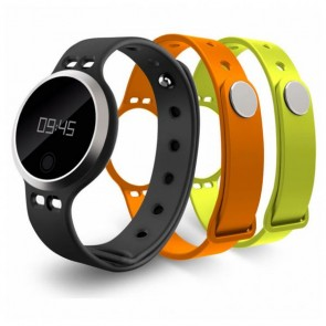 "Orologi Sportivi ORA FIT 2 OSB006-F2B 0.82"" Bluetooth 4.2 IP65 Android /iOS 23 g Nero"
