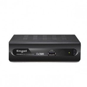 TDT Engel Axil RT6100T2 HDMI USB Nero