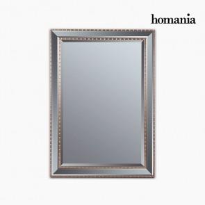 Specchio Resina sintetica Cristallo smussato Argentato Dorato (76 x 3 x 106 cm) by Homania