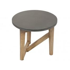Tavolino Aggiuntivo (40 x 40 x 35 cm) Legno di mindi