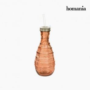 Bottiglia in Vetro Riciclato - Pure Crystal Deco Collezione by Homania