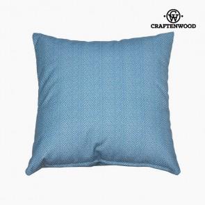 Puff Azzurro (90 x 90 x 25 cm) by Craftenwood
