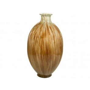 Vaso in Vetro Riciclato (25 x 25 x 40 cm) - Pure Crystal Deco Collezione
