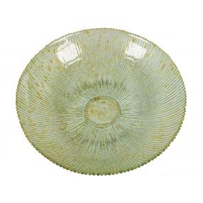 Centrotavola in Vetro Riciclato Beige - Crystal Colours Deco Collezione