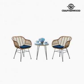 Tavolo con 2 sedie (3 pcs) by Craftenwood
