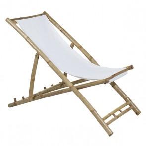 Sedia (115 x 66 x 59 cm) Bambù Bianco