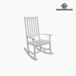 Sedia a Dondolo (116 x 87 x 68 cm) Legno di pioppo