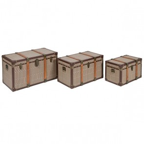 Set di Bauli Vintage (3 pcs) Marrone