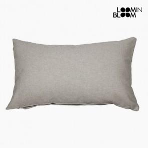Cuscino (30 x 50 x 10 cm) Cotone e poliestere Grigio