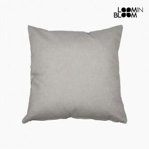 Cuscino (45 x 45 x 10 cm) Cotone e poliestere Grigio