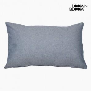 Cuscino (30 x 50 x 10 cm) Cotone e poliestere Azzurro