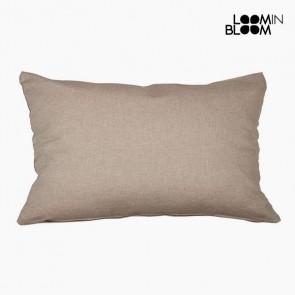 Cuscino (30 x 50 x 10 cm) Cotone e poliestere Marrone