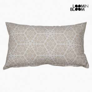 Cuscino Cotone e poliestere Beige (30 x 50 x 10 cm) by Loom In Bloom
