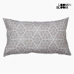 Cuscino Cotone e poliestere Grigio (30 x 50 x 10 cm) by Loom In Bloom