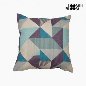 Cuscino (45 x 45 x 10 cm) Cotone e poliestere Azzurro