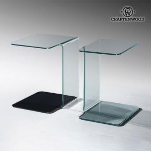Tavolo Aggiuntivo (45 x 40 x 60 cm) Vetro curvo
