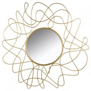 Specchio Golden Flower (100 x 3 x 100 cm)