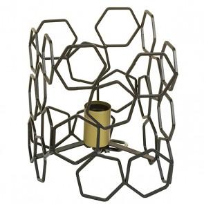Lampada da Tavolo Alluminio (19 X 19 x 24 cm)