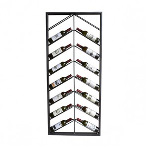 Portabottiglie Metal Wall (160 x 6 x 70 cm)