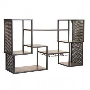 Scaffale Industrial (100 x 25 x 60 cm) Ferro