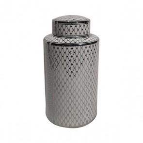 Vaso Geometric Ceramică