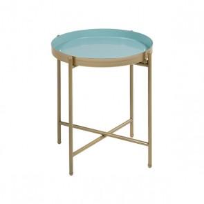Tavolino Aggiuntivo (38 x 38 x 40 cm) Ottone Geam