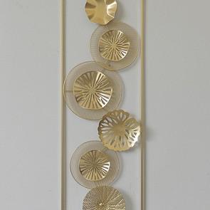 Decorazione da Parete Ferro (31 X 90 x 3 cm)