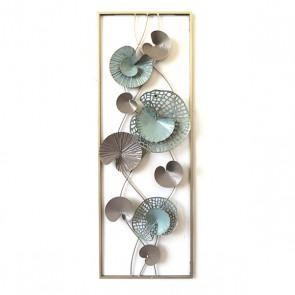 Decorazione da Parete Water Lily (31 x 90 x 35 cm)