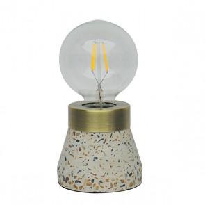 Lampada da Tavolo Edison (10 x 10 x 11 cm)
