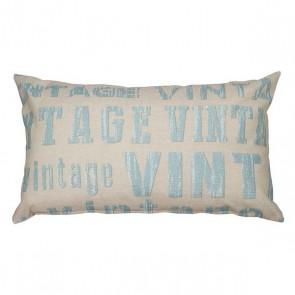 Cuscino Vintage Azzurro