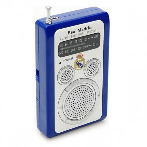 Radio Transistor Real Madrid C.F. 714623 Bianco