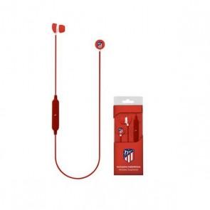 Auricolare Bluetooth Sportivo con Microfono Atlético Madrid Rosso