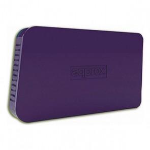 "Involucro per Hard Disk approx! appHDD05P 2,5"" USB 2.0 Porpora"