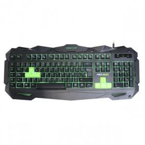 Tastiera per Giochi KEEP OUT F80 Nero/verde