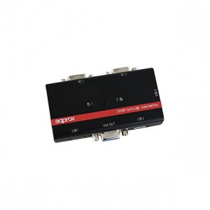 approx! APPKVMUSB2PV2 Commutatore KVM USB/VGA