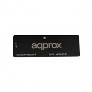 Lettore di Schede Esterno approx! APPCR01B USB 2.0 Nero